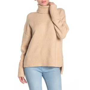 Joie Lirona Wool Blend Turtleneck Sweater